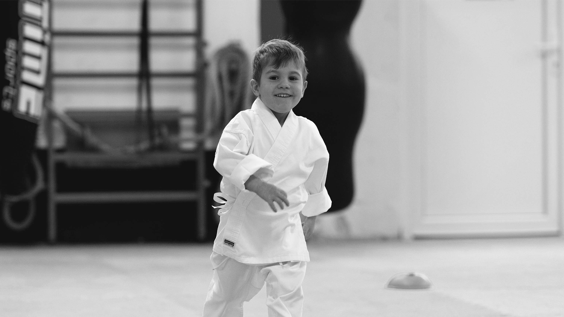 Kinderkarate Training